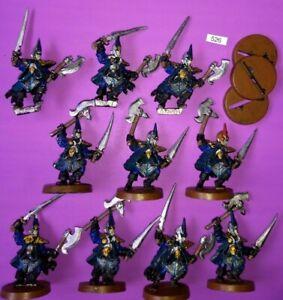 10 Dark Elf Black Ark Avions Corsair Warhammer Fantasy Metal Aelves Darklings Clan-afficher Le Titre D'origine
