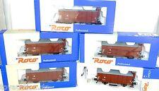 5 Stück DR gedeckter Güterwagen G 05 34 64 Bhs KKK Roco 47644 OVP H0 1:87 HC4 µ
