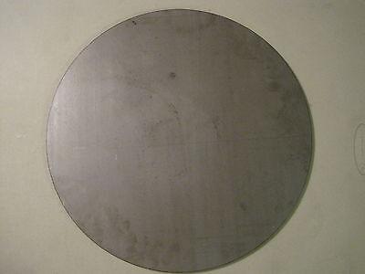 ".250 A36 Steel 16/"" Diameter Disc Shaped 1//4/"" Steel Plate Pizza Stone"
