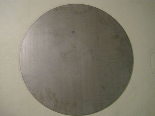 """1//4/"""" Steel Plate Circle .250 A36 Steel Round 17.00/"""" Diameter Disc Shaped"""