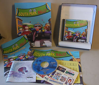 Vintage 90s PC Game Video Spiel SOUTH PARK RALLY Big Box
