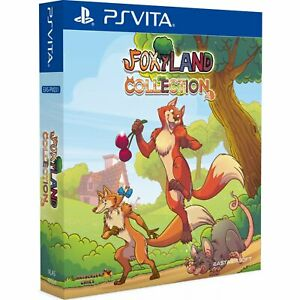 Foxyland-1-2-Collection-Collector-039-s-Edition-PS-VITA-Playstation-Physical-Asia