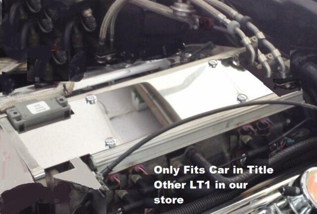 Buick Roadmaster 1994-1996 LT1 PLENUM INTAKE MANIFOLD CHROME CAPS stainless