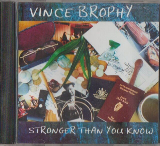 C.D.MUSIC F290  VINCE BRODHY : STRONGER THAN YOU KNOW   CD