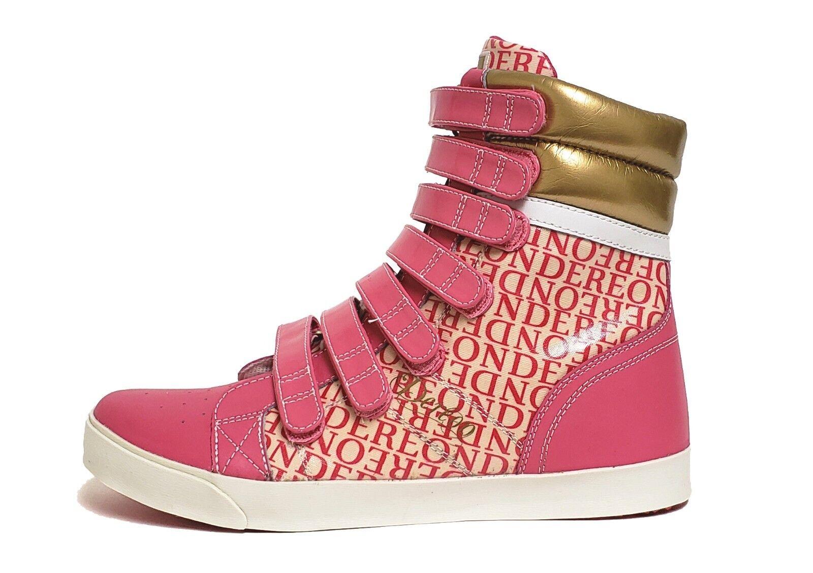 House of of of Dereon Para Mujer Zapatos Esmaltado Royale Correa rosado EWA091-650 a7 Talla 9.5  genuina alta calidad