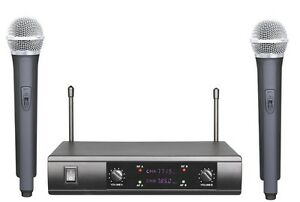 PRO-UHF-WIRELESS-CORDLESS-DUAL-MICROPHONE-SYSTEM-WITH-SM58-WIRELESS-TYPE-MIC