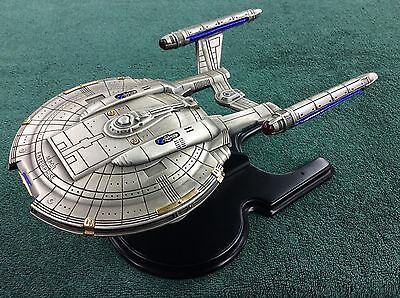 Star Trek Franklin Mint NX-01 Enterprise RARE Pewter Sculpture Paramount 2002