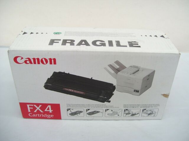CANON FX4 FX-4 GENUINE BLACK TONER CARTRIDGE FAXL800 FAXL8500 FAXL900 FAXL900