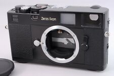 2498#GC Zeiss Ikon M-Mount ZM Black 35mm Rangefinder Film Camera Excellent+