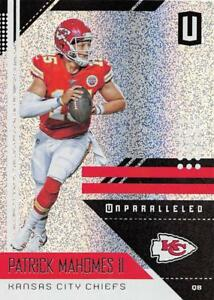 Details About 2018 Panini Unparalleled Nfl Football Cards Pick From List 1 150 With Rookies