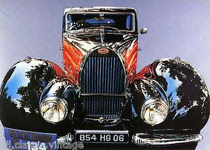 Postcard-113-Car-Automobil-Bugatti