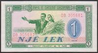 ALBANIA  -  1   LEK   1976   -  P 40   Uncirculated Banknotes