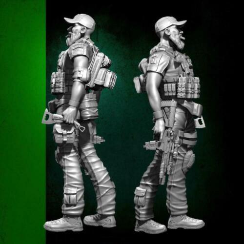 1//35 Resin Soldat Navy Seal Assault Team Militärfigur Modellbausatz Beste u H2Z8