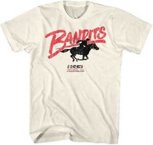 Tampa-Bay-Bandits-LOGO-USFL-Men-039-s-Tee-Shirt-Natural-Sizes-S-5XL