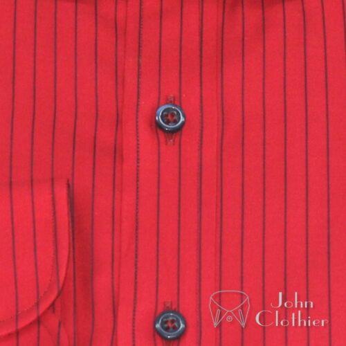 penny controlla del strisce di club del uomini rotondo il del collare Le polsino Gents camice per degli del cotone delle 8wgPgX