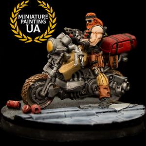 Corvus Belli Infinity ariadna forajido ⭐ Pintado escopeta escuadrón de motorista