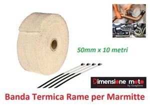 BTE100C-Banda-Termica-Rame-50mm-10m-per-Marmitte-Echappement-moto-Kymco