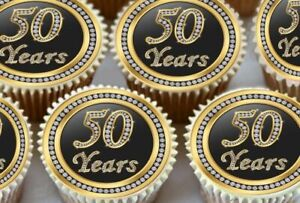 24-X-50TH-BIRTHDAY-ANNIVERSARY-EDIBLE-CUPCAKE-TOPPERS-THICK-RICE-PAPER-1174