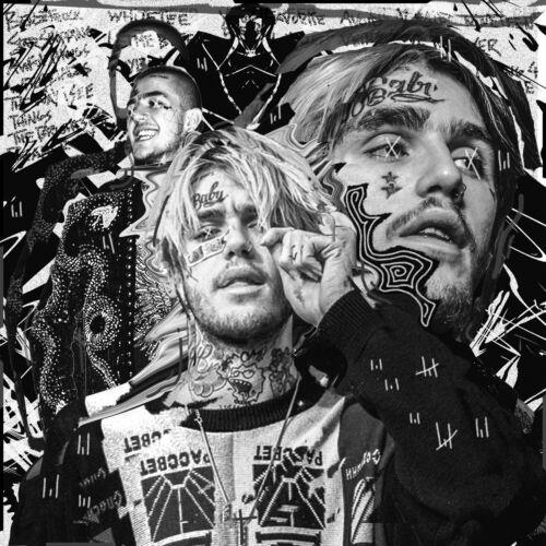 "Lil Peep Lil Peep Sex With My Ex poster art deco photo print 16/"" 24/"" sizes 20/"""
