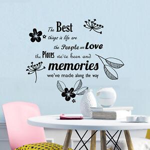 Love-Adesivi-Murali-Arte-Casa-Decorazione-Casa-Famiglia-Cucina-Preventivo-Decalcomania
