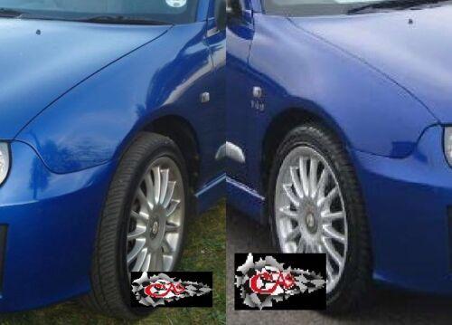 Nuevo MG ZR//Rover 25 pasajeros y controladores frontal alas en Encendido Azul jgy