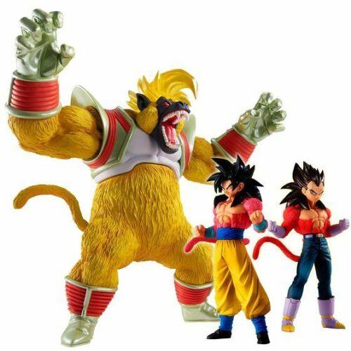 Bandai Dragon Ball Z GT HG Oozaru Baby Awakening High Grade Real Figure Set of 3