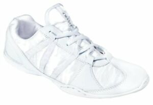 fce67fdc5146 NIB - CHASSE Girl s  ACE  White CHEER SHOES - US 8Y