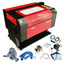 100W Laser Engraving Cutting Machine CO2 Engraver Cutter High Precise USB Port