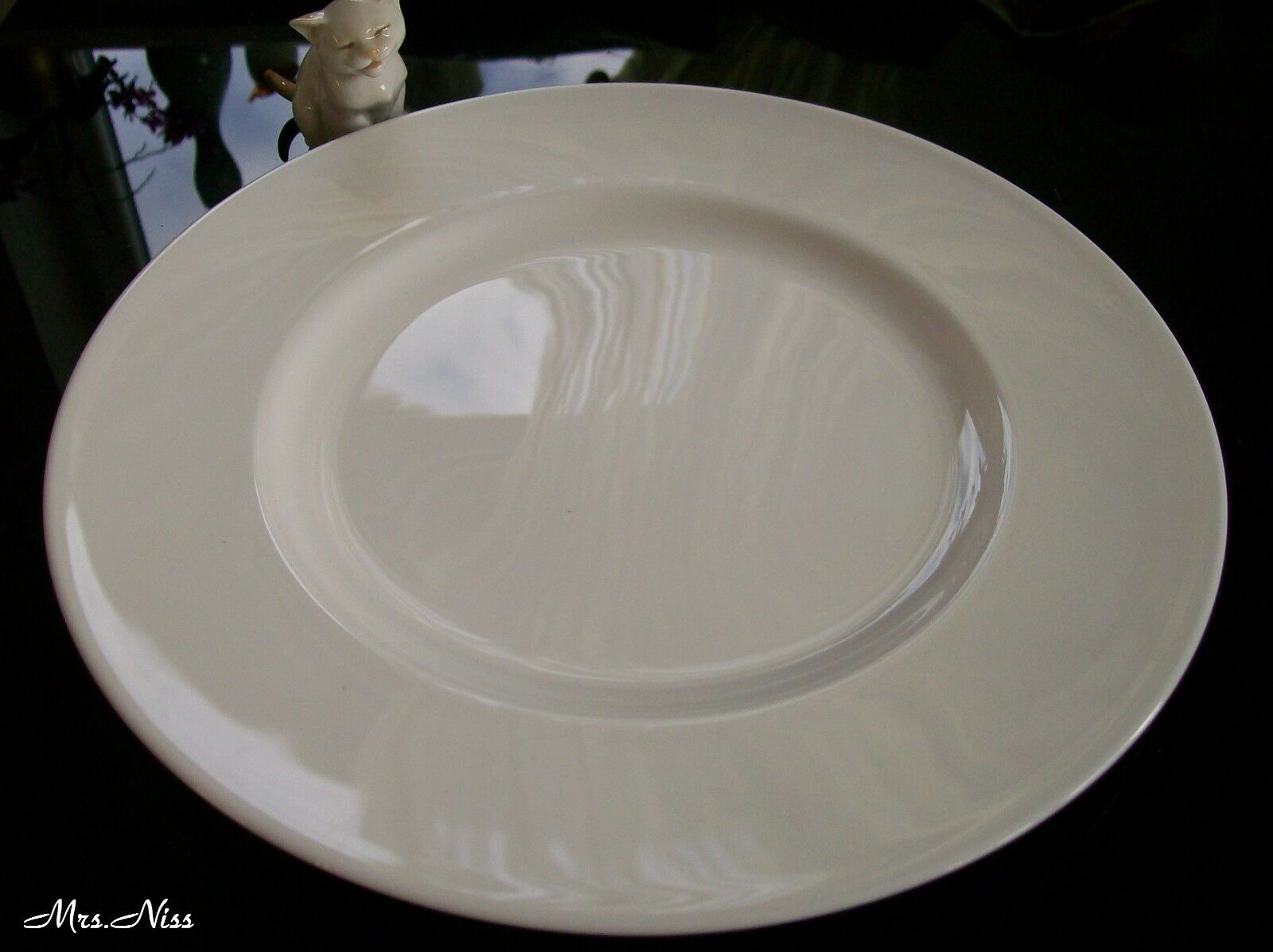 Rosenthal blanc Curve Blanc 4 x Place Assiette 31 cm  1 a ARTICLE NEUF
