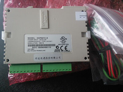 DVP04TC-S Delta S Series PLC Temperature Measurement Module new in box