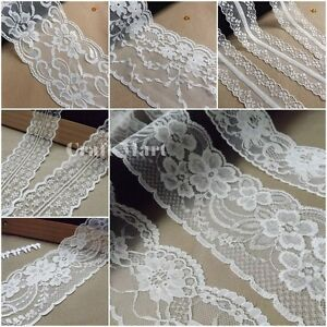 VINTAGE-antique-off-White-Ivory-LACE-RIBBON-WEDDING-TRIM-Bridal-Shabby-dress-diy