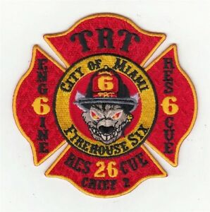 Florida-Miami-Fire-Department-Engine-6-Rescue-6-Rescue-26-Patch