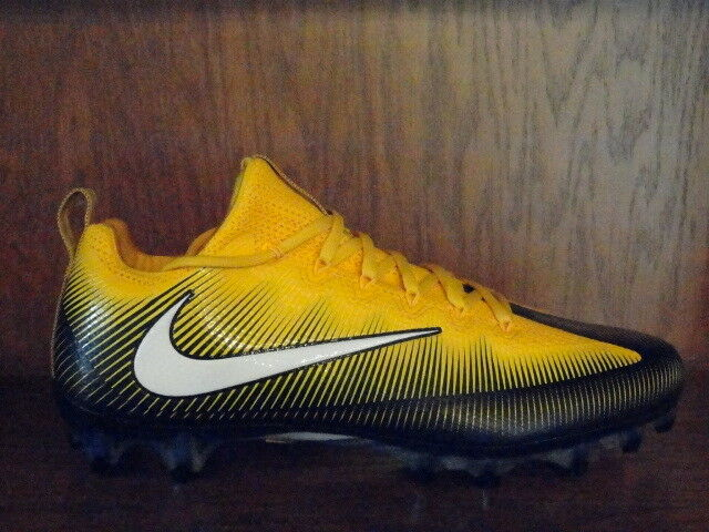 New  Mens NIKE VAPOR UNTOUCHABLE PRO Molded Football Cleats STEELERS 839924-025