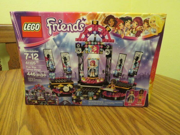 LEGO FRIENDS SERIES POP STAR SHOW STAGE, AGES 7 - 12, NIB