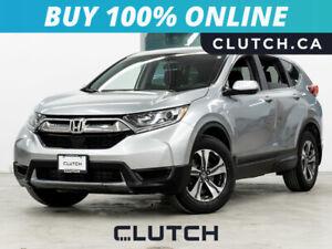 2017 Honda CR-V LX AWD w/ Heated Seats, Backup Cam, Bluetooth