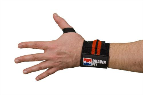 Lifting Straps 1 Pair Bundle Weightlifting Powerlifting Wrist Wraps 1 Pair