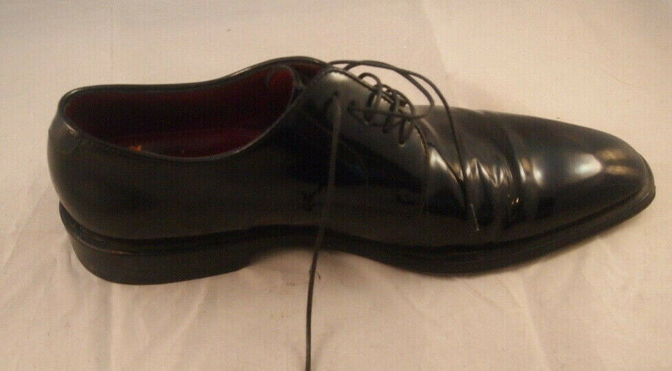 Hugo Boss Men's Size 8 Italian Patent Leather Oxford Oxford Oxford Evening shoes No Box Quality e06aab