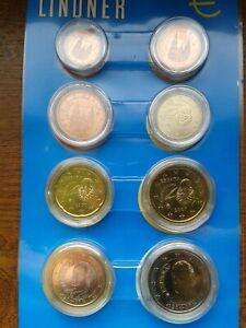 espagne 2007 série 8 pièces neuves sous capsules
