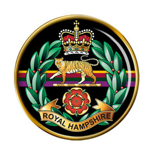 Royal-Hampshire-Regiment-Armee-Britannique-Broche-Badge