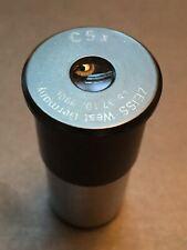 Zeiss Microscope Eyepiece C5x 463710 9901