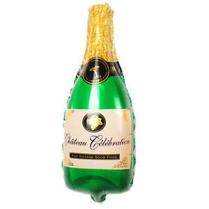 Party Supplies R33f5 Not Helium Balloon Champagner Flasche