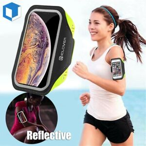 Iphone 12 11 Pro Max Xr 8 Plus Sport Running Armband Jogging Gym Arm Band Pouch Ebay