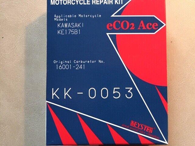 KAWASAKI KE175 KESYTER CARB CARBURETOR REBUILD REPAIR KIT 1976-1978