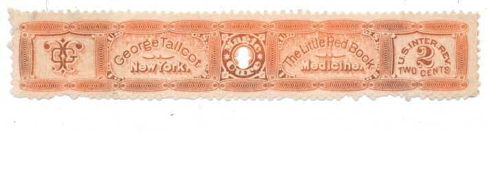 George Tallcot Medicine U.S. Internal Revenue RS239d Pr