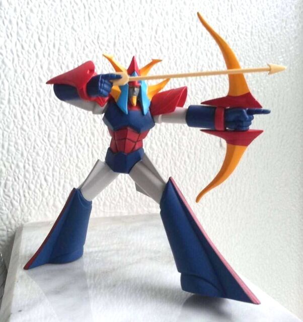 *B3640-6 Bandai Sofubi Do DX Go Nagai Characters Figure Japan Getter Dragon