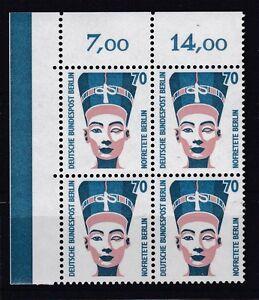Berlin-1988-SWK-postfrisch-VB-oben-links-MiNr-814-Nofretete-Bueste-Berlin