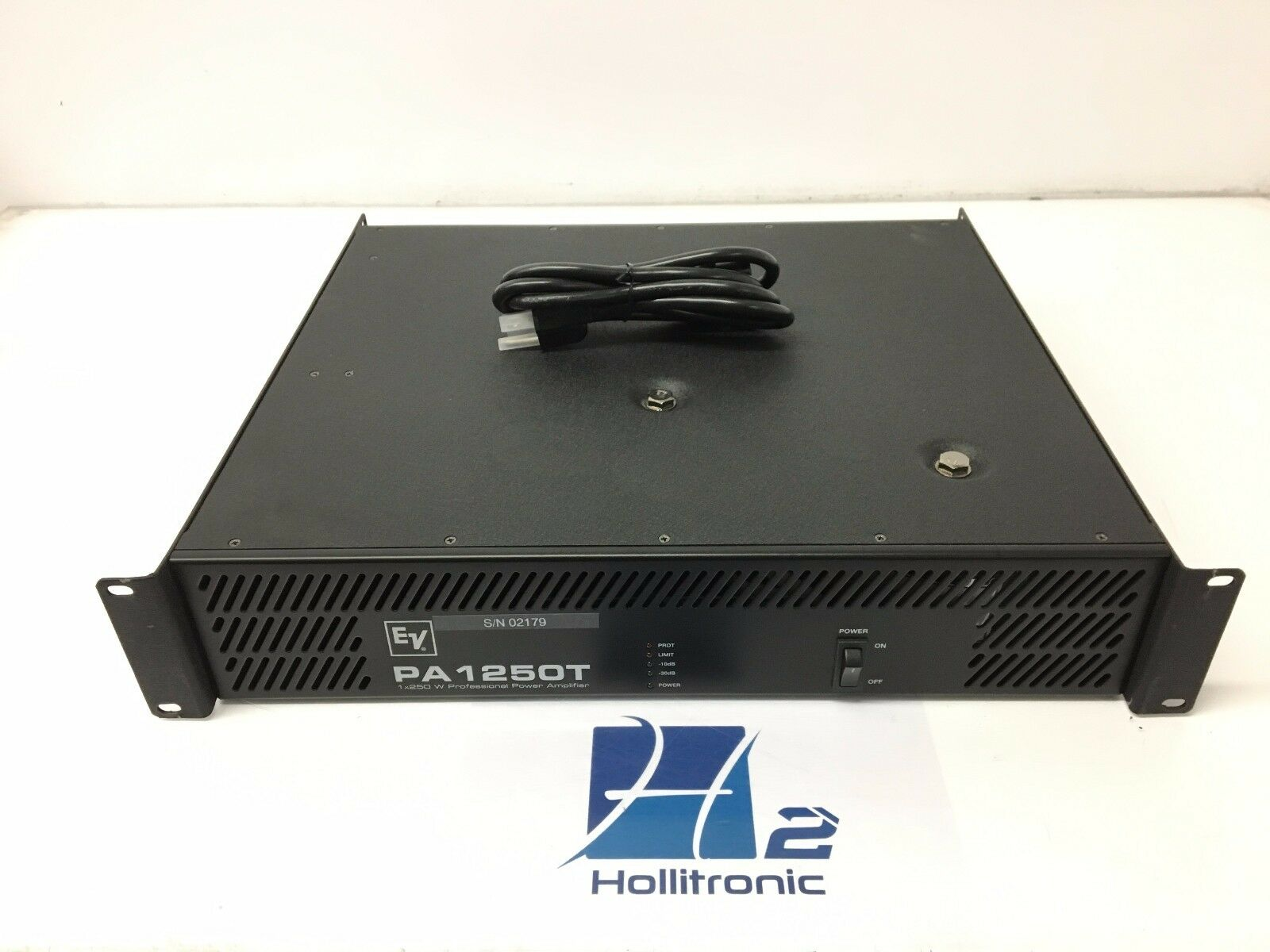 Electrovoice PA 125OT 1x250 W Professional Power Amplifier USED
