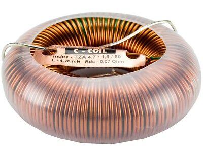 Jantzen-audio C-coil Ringkernspule - Toroidspule - 1,6mm - 0,82mh - 0,04ohm Modischer (In) Stil;