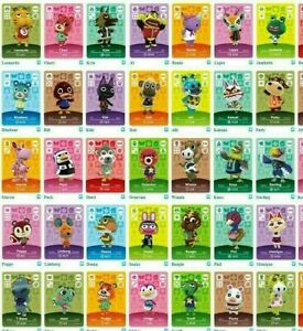 Authentic Nintendo Animal Crossing Series 1 Cards Pick Your Own 001 100 Ebay