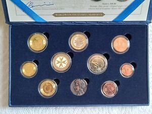 Coffret €uros Prestige 2011 MALTE BU 9 Monnaies (R) - NEUF